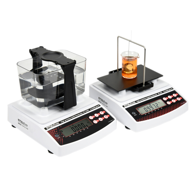 ET-120HD固液体密度计安装与测试视频